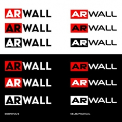 "arwall_logo_explorations2 • <a style=""font-size:0.8em;"" href=""http://www.flickr.com/photos/92001460@N05/30729709064/"" target=""_blank"">View on Flickr</a>"
